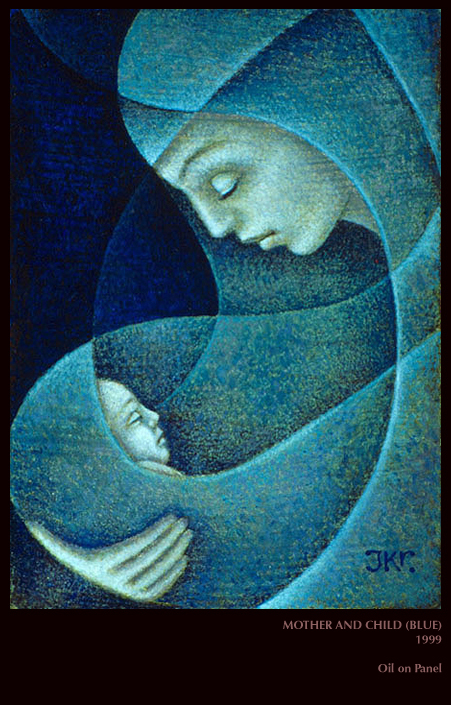 J Kirk Richards Mother And Child